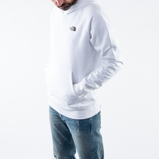 The North Face Raglan Red box Hoodie NF0A2ZWUVU2