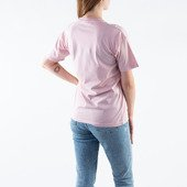 Carhartt WIP W' S/S Script Embroidery T-Shirt I028441 FROSTED PINK/BLACK